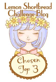 Top 3 for Lemon Shortbread Challenge Blog