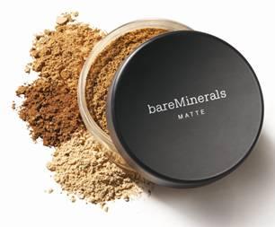 base mineral bare minerals matte