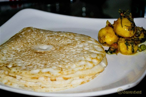 Soru chakli   saru chakuli is a sankranati special dish which looks like a pan cake