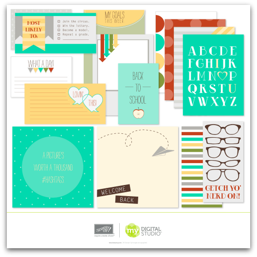 Stampin' Up! What a Day Pocket Cards Digital Download