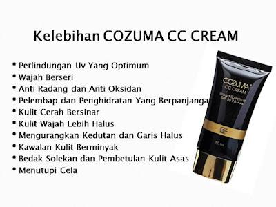 Cozuma CC Cream - Kulit Halus Semulajadi