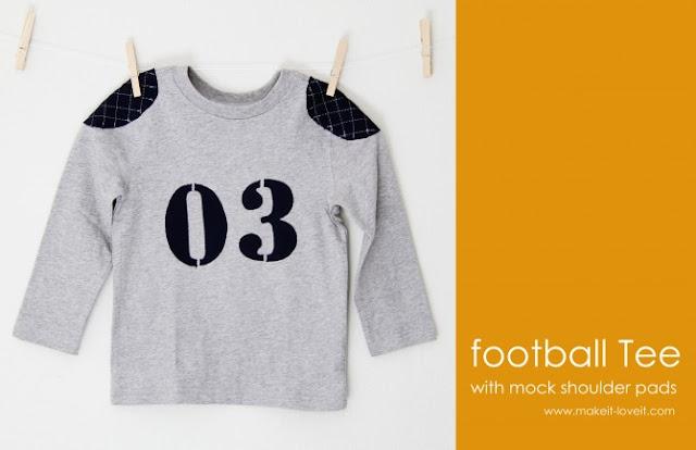 football tshirt tutorial
