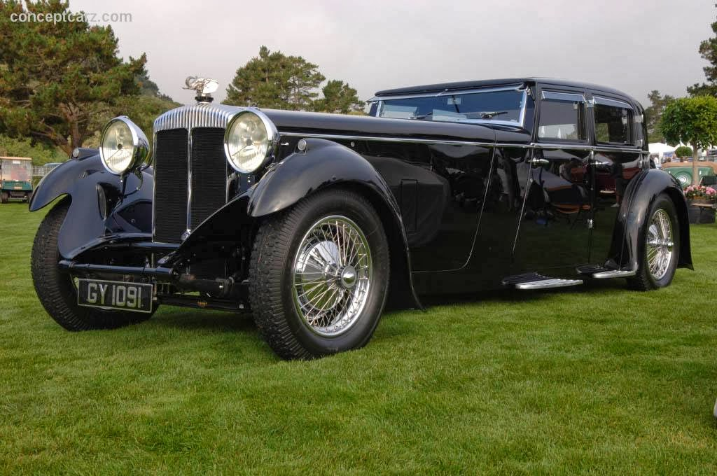The Naked Ape Gets Dressed: 1932 Daimler Double Six