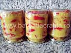 Gogosari in sos de mustar pentru iarna preparare reteta - in borcanele intoarse