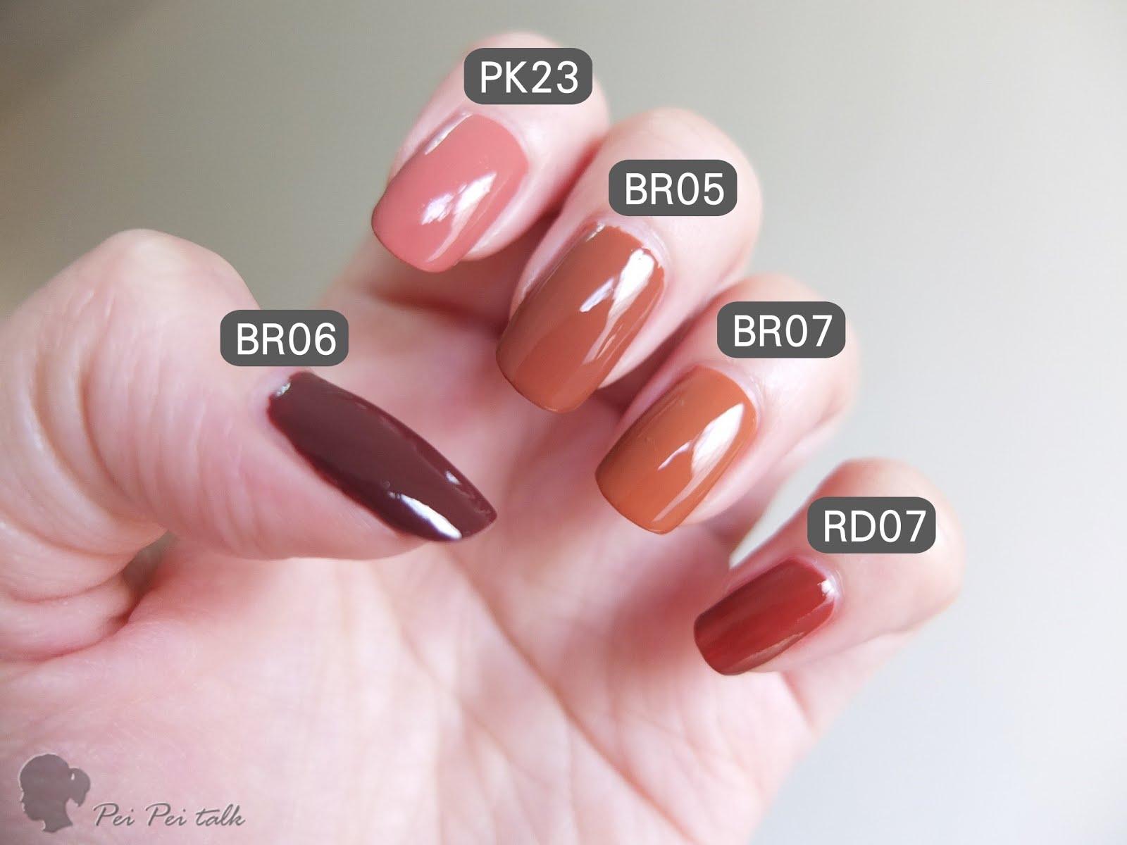 ผลการค้นหารูปภาพสำหรับ 3CE Mood Recipe Long Lasting Nail Lacquer BR06