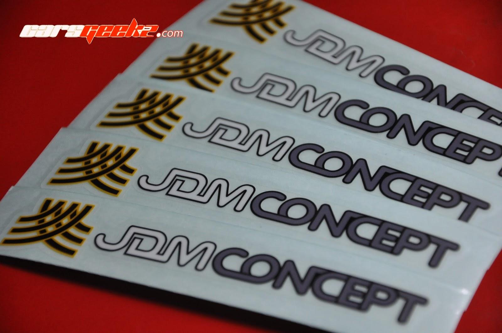 JDM Concept sticker / decal / vinyl OEM 7
