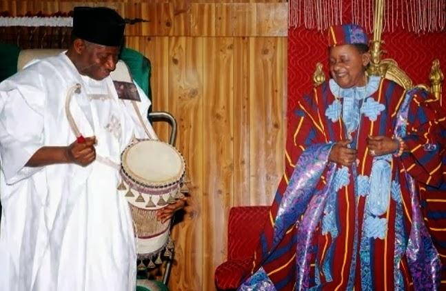 president jonathan alaafin of oyo