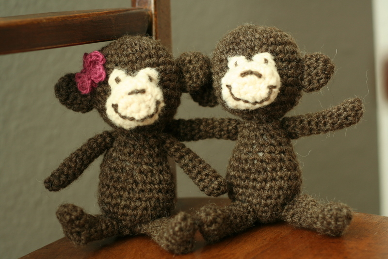 FREE CROCHET MONKEY PATTERNS Design Patterns