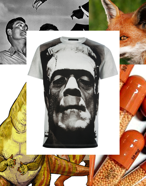 Christopher Kane Frankenstein T-shirt