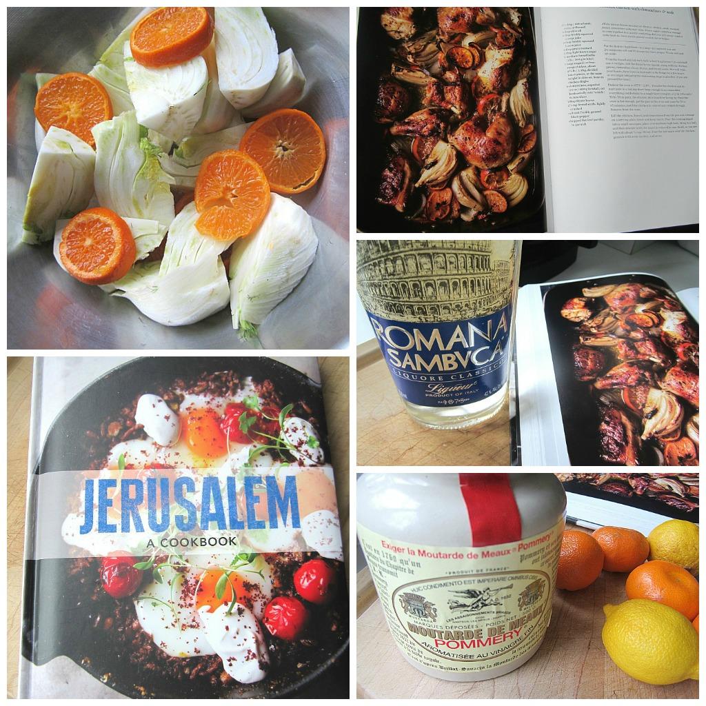 ... Snacks: Jerusalem: Roasted Chicken w/ Clementines, Fennel & Arak