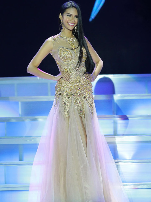 Filipino-made national costume & evening gown for Miss Philippines ...