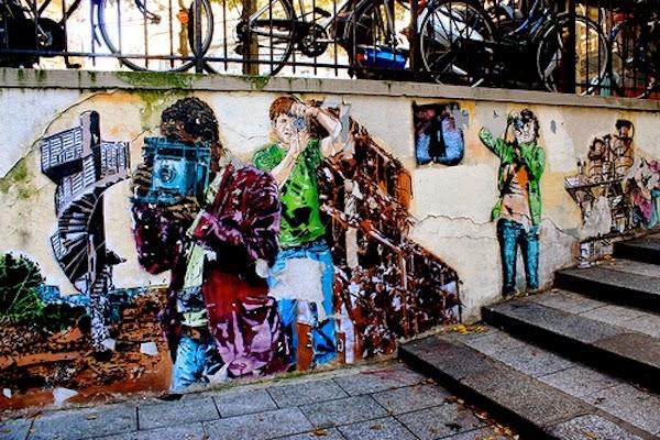 Gadekunst i Marseille, Frankrig