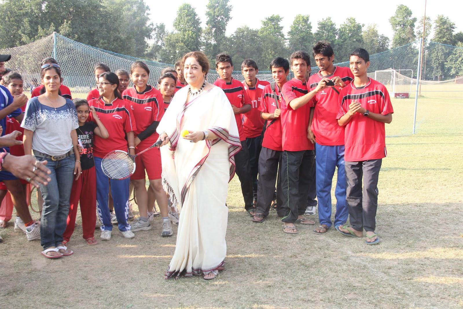 chandigarh women Dev samaj college of education, bed college,  dr neeru malik becomes chandigarh first women itt umpire by qualifying.