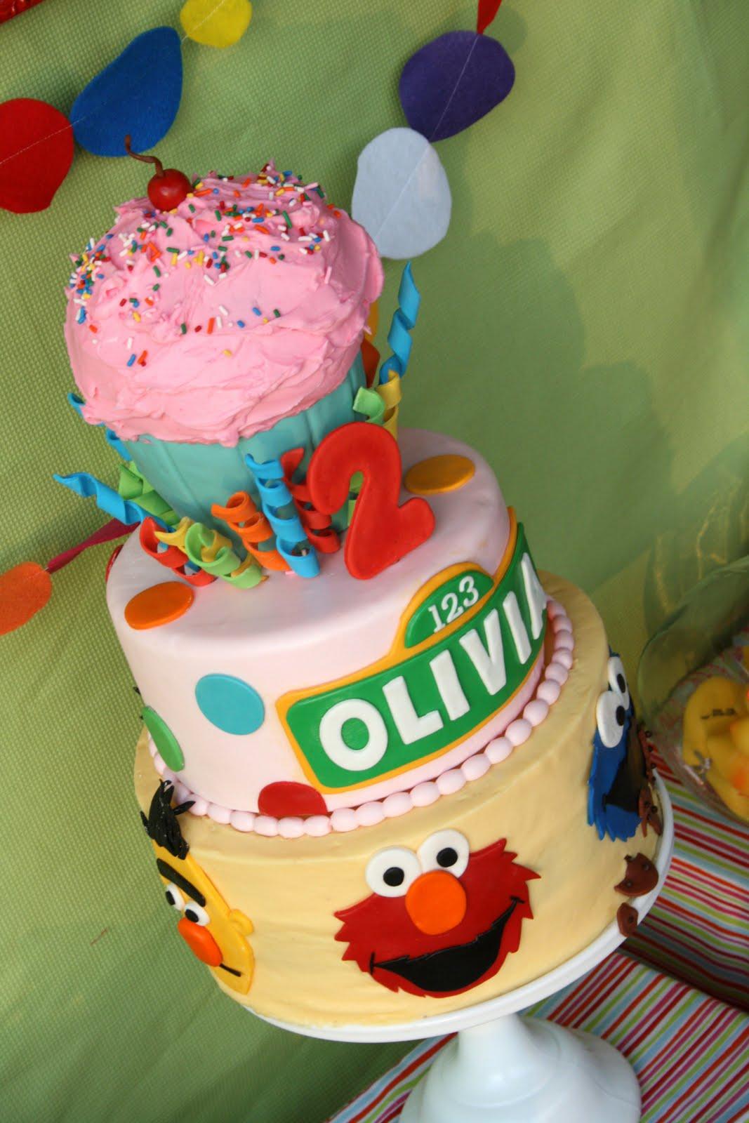 Olivias Sesame Street Party