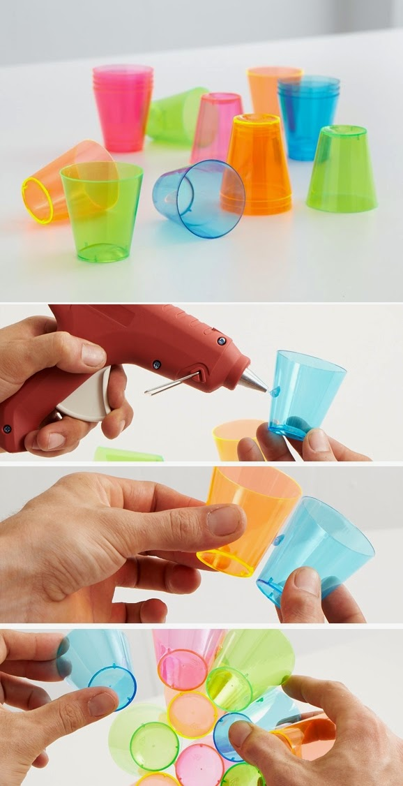 How to Make a Sphere out of Plastic Cups