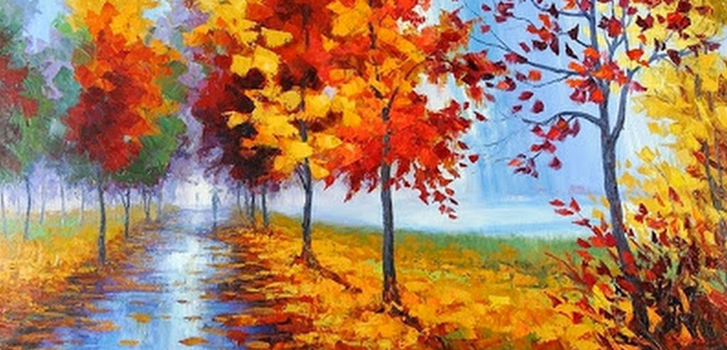 cuadros-paisajes-modernos-pintados-con-espatula