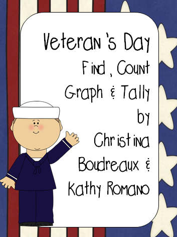 http://www.teacherspayteachers.com/Product/Veterans-Day-Find-Count-Tally-Graph-1547850