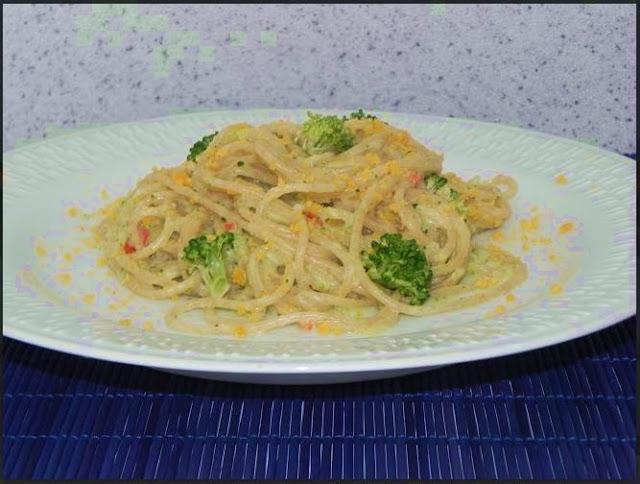 ingredientes preparar macarrão cozinhar brocolis