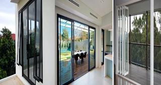 Jenis Bukaan Pintu Aluminium
