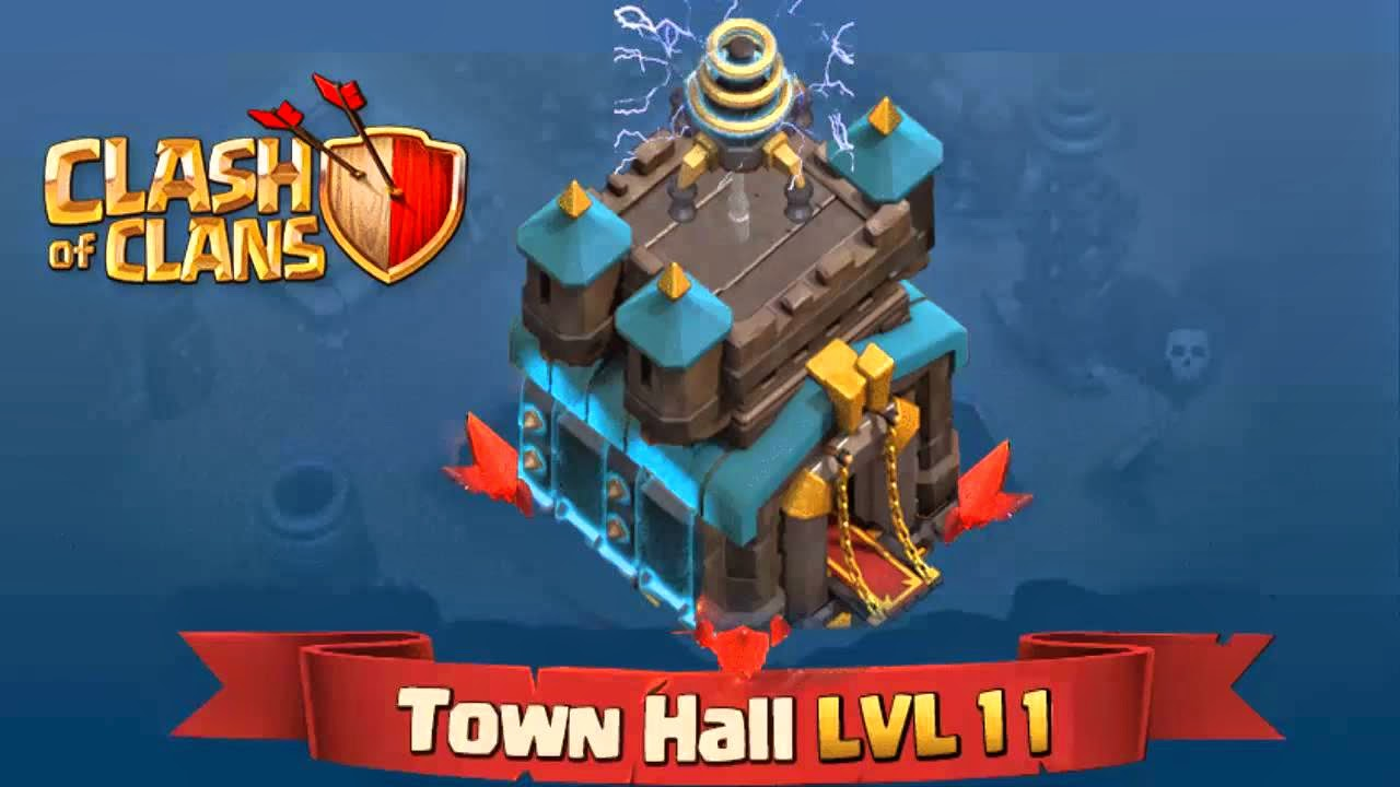 Town Hall 11 COC