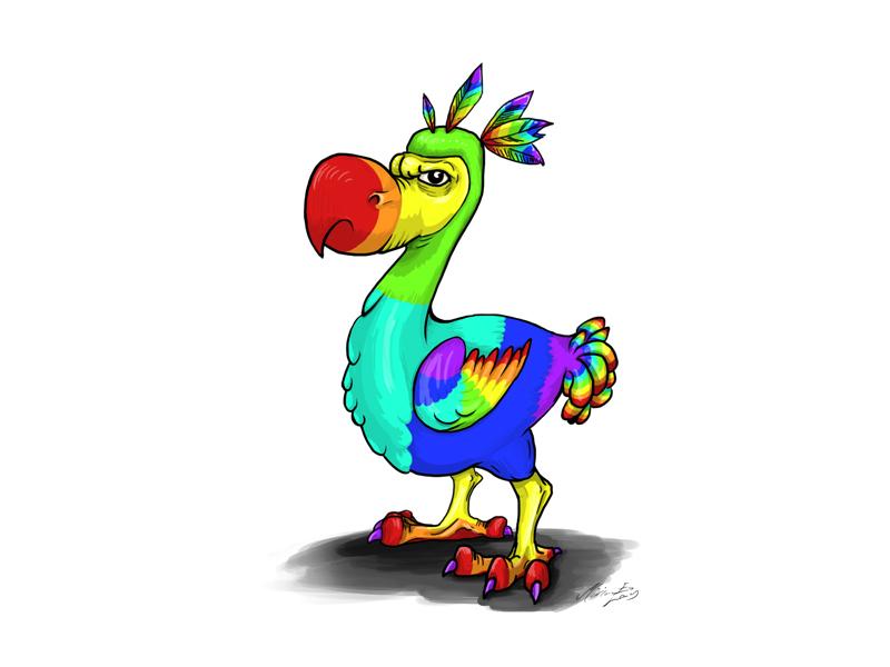 Drawing Rainbow Dodo