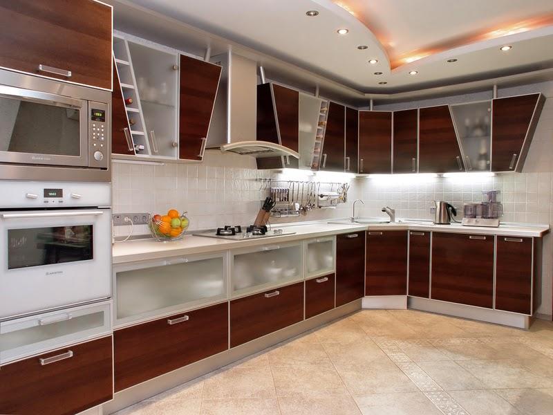 fotos de gabinetes de cocina modernos - Muebles de cocina modernos blancos Imágenes y fotos