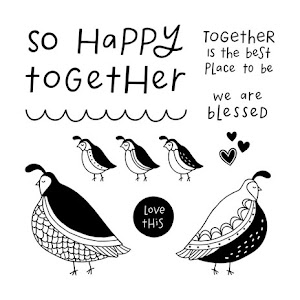 April Stamp of the Month: Flock Together