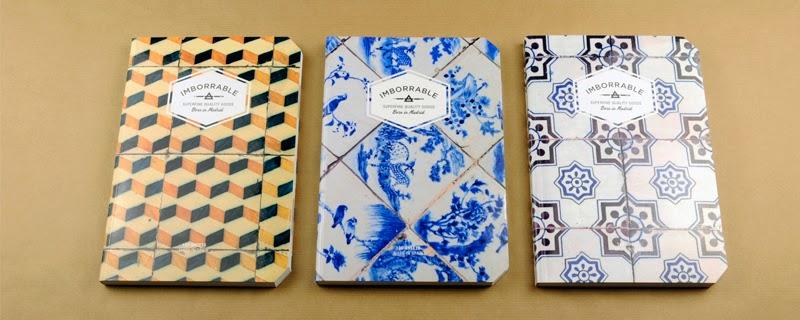 Imborrable colección de libretas de diseño y ecológicas