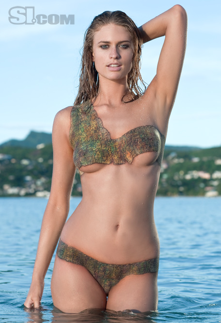 Unique Body Paint Julie Henderson Swimsuit Body Paint | Male Models ...