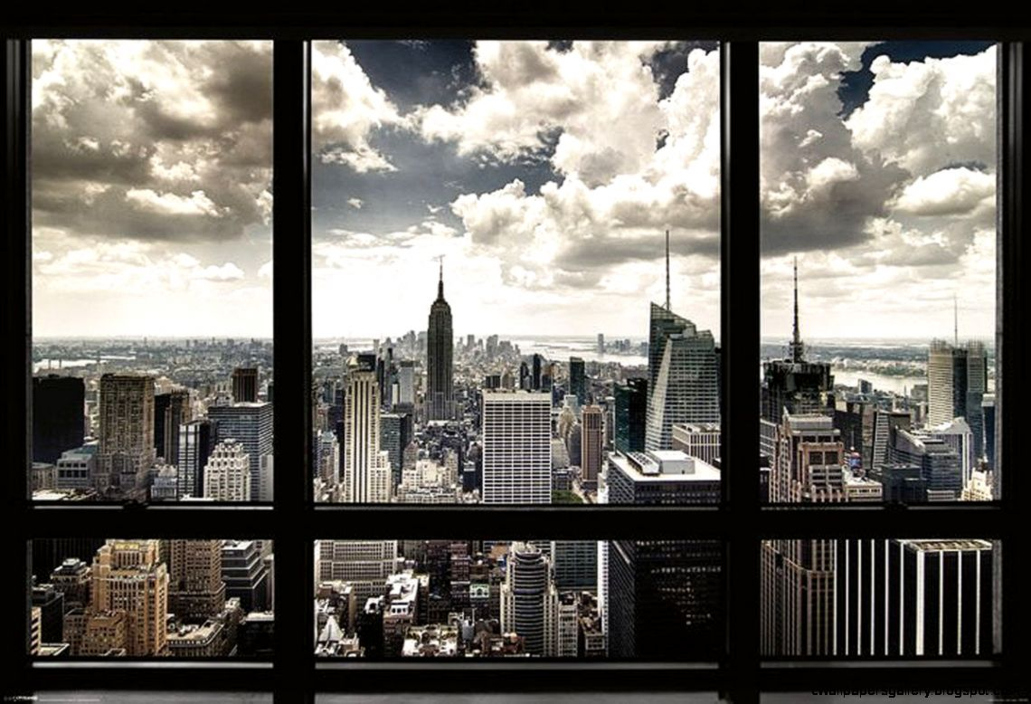 New York   Window Poster Print 39 x 55 Posters  Prints