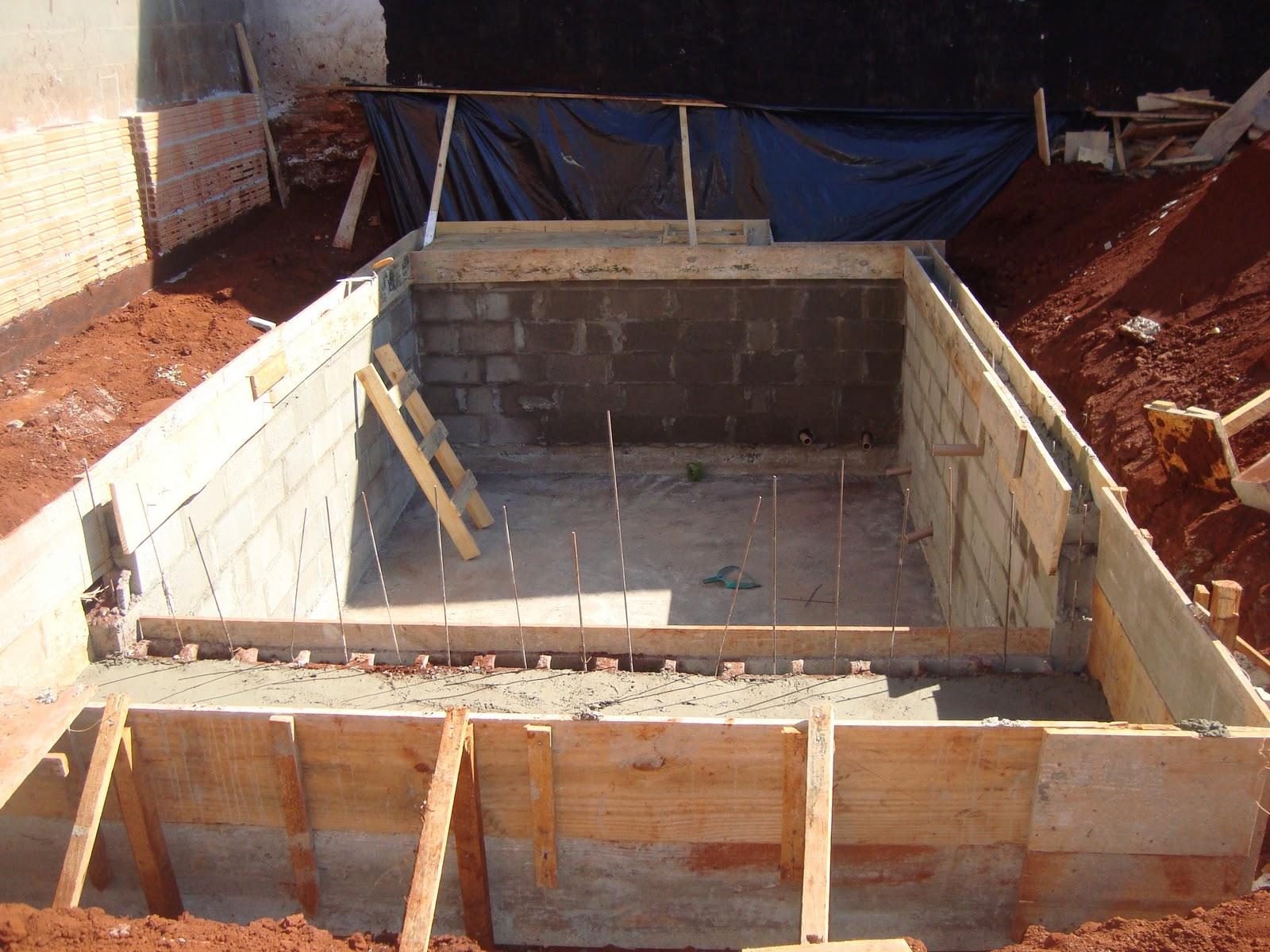 Construindo Nosso Lar Piscina 2a Fase