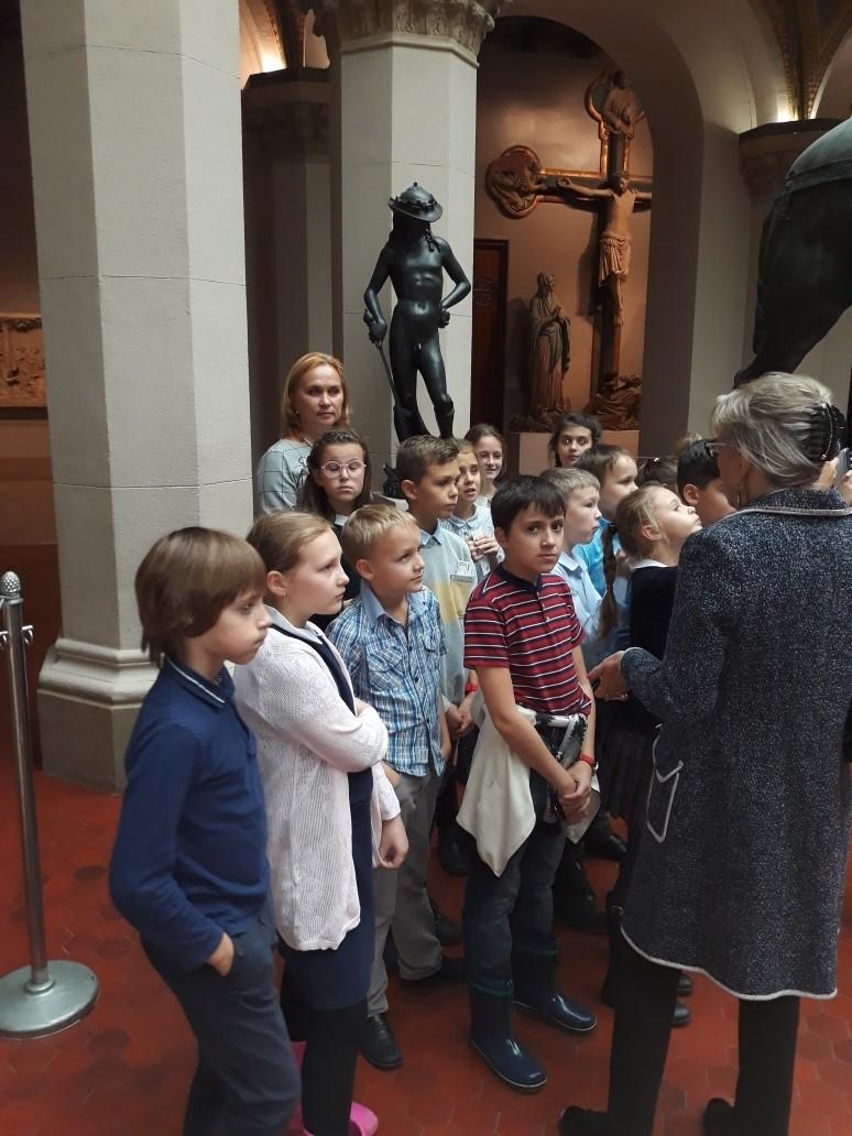 занятия в музее ГМИИ