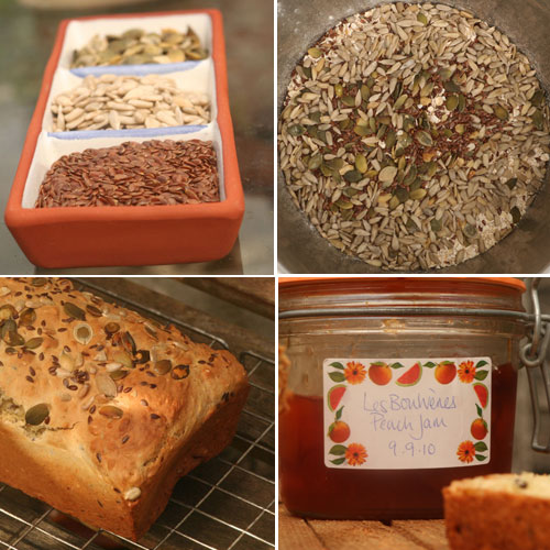 Irish Food and Drink: White Soda Bread collage by Hester Casey