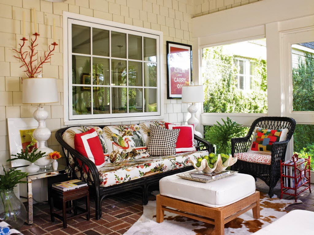 Decorate Outdoor Room Of Your Dreams With Designer Home Fabrics