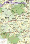 A Pétervásárai kistérség térképe