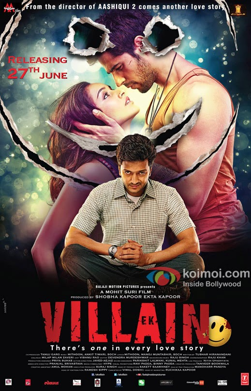 Ek Villain Movie Mp3 Songs Download Free Out In 2014