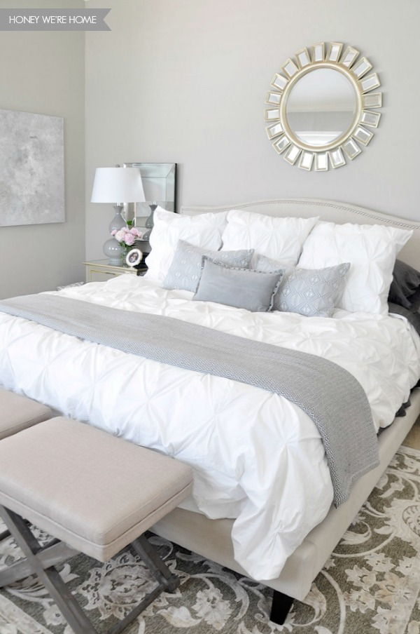 Quick Home Cleaning Routines - starting with make your bed!  Such a great way to end the day.