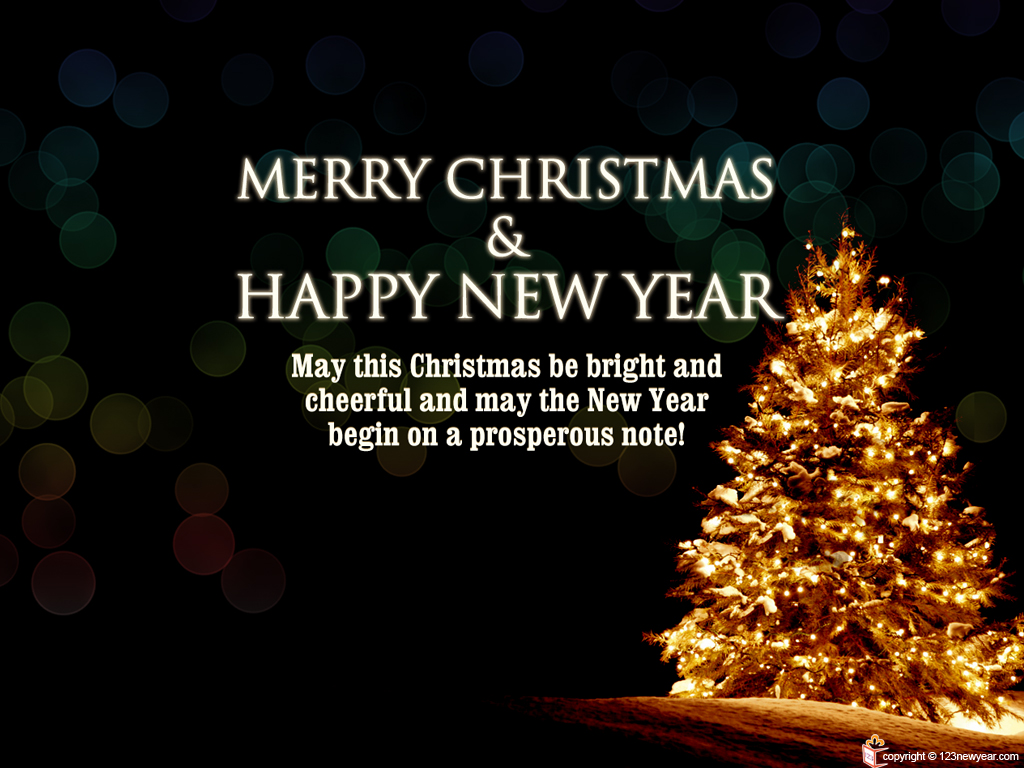 merry christmas and prosperous new year wallpapers