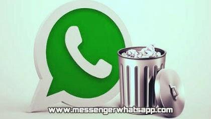 Como borrar mensajes y chats de WhatsApp en Android