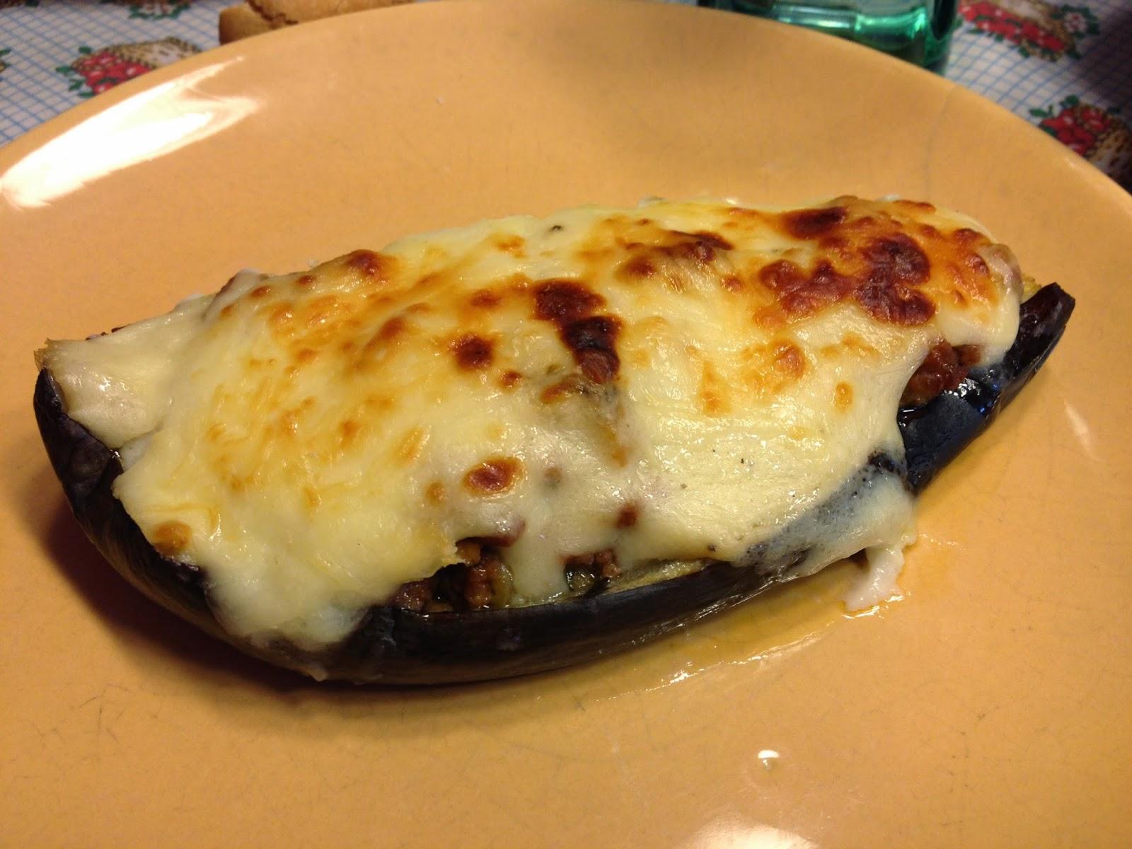 La cocina de casa berenjenas rellenas for Cocina berenjenas rellenas