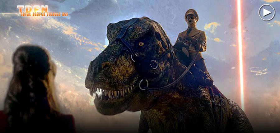 Hitler călare pe un T-Rex în primul trailer pentru Iron Sky 2: The Coming Race