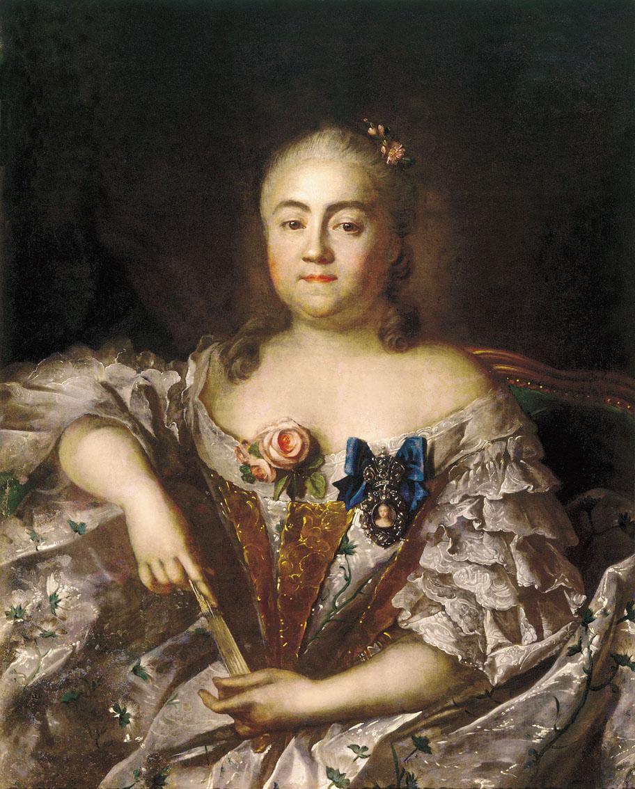Аргунов и п портрет графини варвары