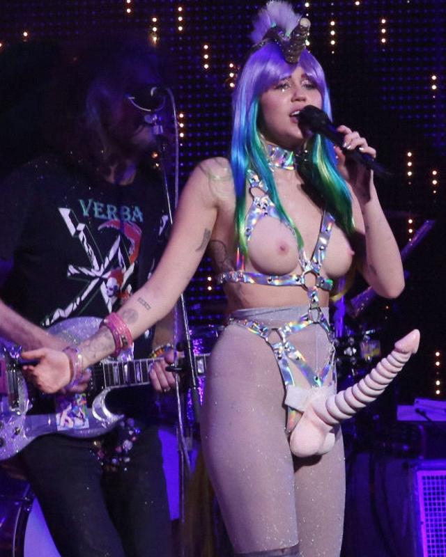El gran espectáculo de Miley Cyrus