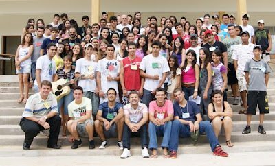 Encontro na diocese de São Luiz de Montes Belos reúne 70 jovens de 10 paróquias