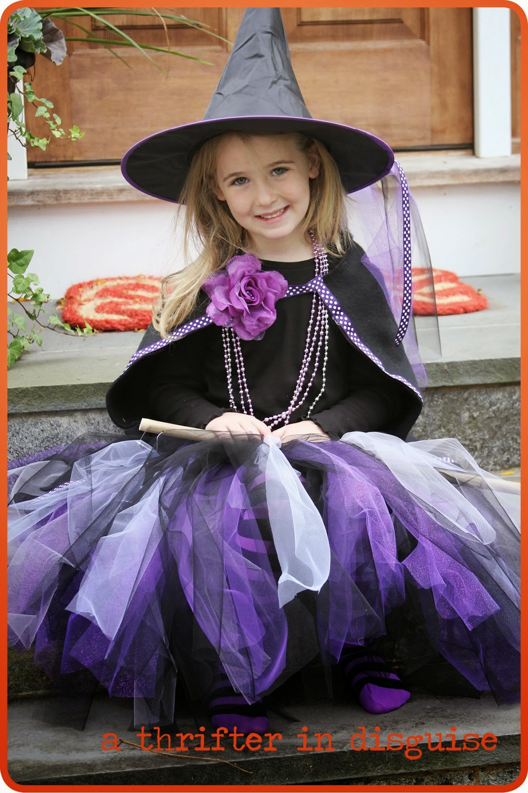 Quick and easy Witch tutu and 32 Kid friendly Halloween ideas, Clever Nest with Hometalk #toddler #roundup #costume