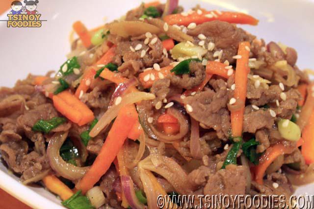 bulgogi rice topping