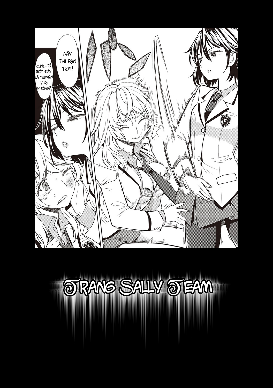 Tuyển tập yuri oneshot chap 88: if a lie is not told, it cannot become yuri omake