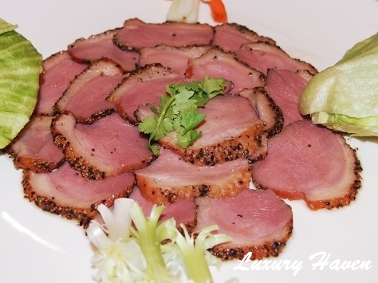 orchid live seafood restaurant smoked duck