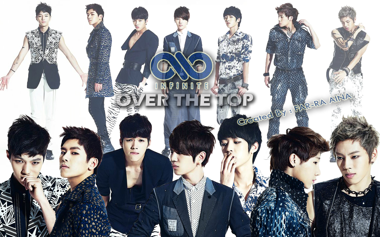 pop lover ^^: INFINITE  Over The Top WALLPAPER