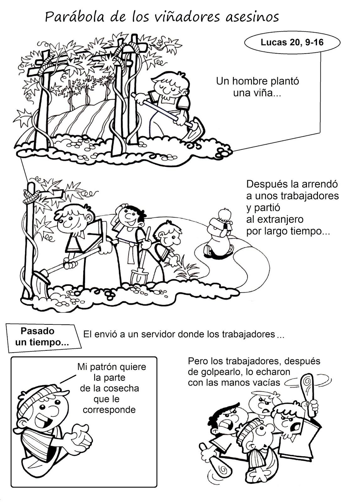 Matrimonio Catolico Resumen : El rincón de las melli historieta parábola los